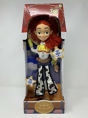 84084bdab3 Disney Toy Story Talking Jessie Parlant Cowgirl Doll Figure Plush Pull  String