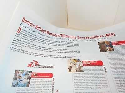 Doctors Without Borders Map And Information