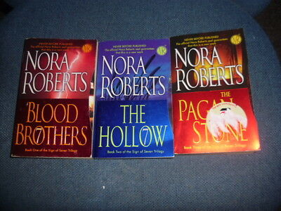 "COMPLETE ""The Sign of Seven Trilogy"" by Nora Roberts"