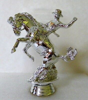 Vintage Bucking Bronco Rodeo Horse Trophy Topper New Old Stock