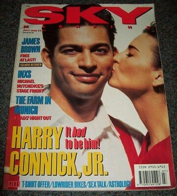 Rare Sky Magazine July 1991 | Harry Connick Jr. Inxs James Brown Madonna