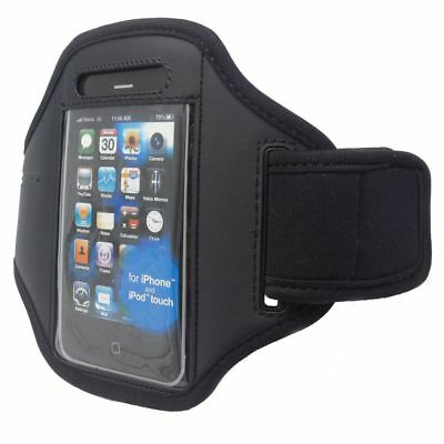 Black Armband Arm Band Running For Iphone 4 4S 3Gs Ipod Touch Case Cover Pouch