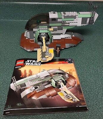 Lego Star Wars Slave I 6209 Complete All Pieces 2 Figures