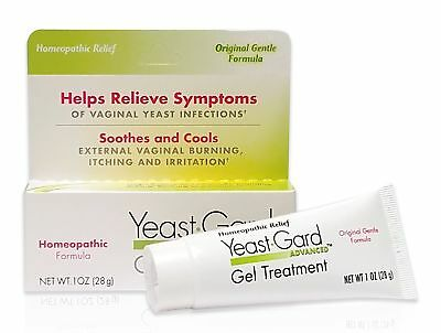 YeastGard Advanced Homeopathic Gel Treatment - For External Yeast Infection S...