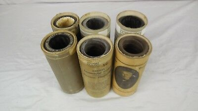 Edison Ediphone Wax Business Cylinders - Lot of 6 - $1.00 per record