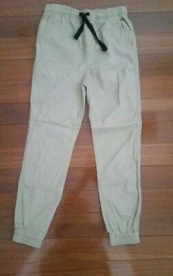 Boys khaki chino pants - size 12