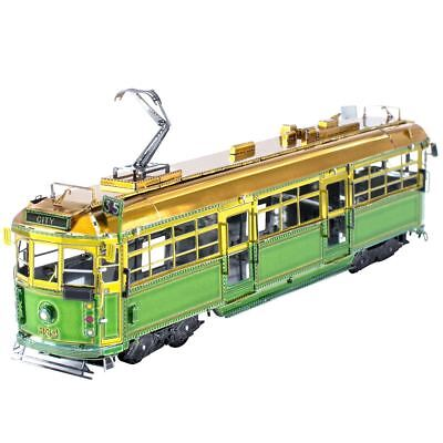 Metal Earth Melbourne W-Class Tram Laser Cut DIY Model Hobby Kit