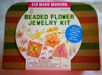 Beaded Flower Jewelry Kit Ages 6+