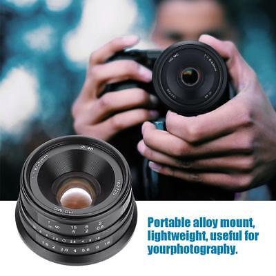 25mm/f1.8 Focus Lens for Sony E-mount Mirrorless Camera APS-C Photography Tool S