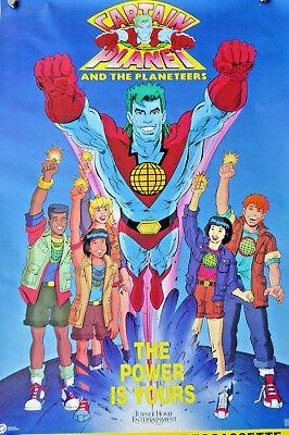 CAPTAIN PLANET & THE PLANETEERS movie poster