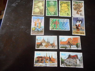 stamps Thailand x 11 in 3 sets