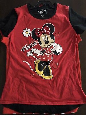 Minnie Mouse Tshirt Duo Pack Size 7 BNWT