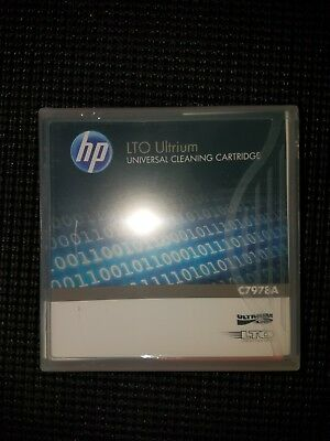 HP LTO  Ultrium C7978A Universial Cleaning Cartridge Brand New
