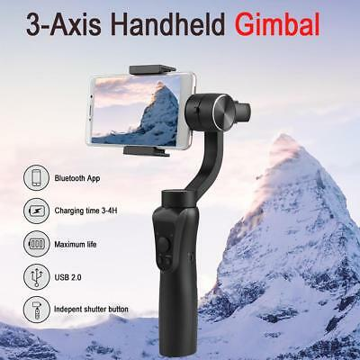 3 Axis Handheld Gimbal Smartphone Portable Stabilizer USB 2.0 for iPhone 7/8/X