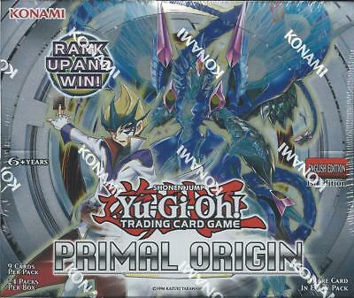 Yu-Gi-Oh! Primal Origins Sealed 1st Edition Booster Box