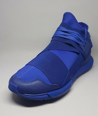 cd4582994fd0 S82124 Adidas Y-3 Qasa High Sneakers Blue Size 10.5US Men Sneakers Shoes