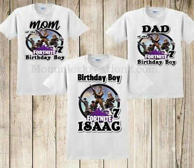 Personalized Fornite Birthday Shirt Fort Nite