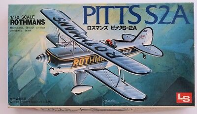 LS 1:72 Pitts S2A Rothmans Model Kit