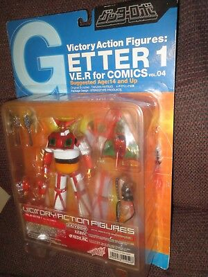 GETTER 1 figure Xebec Kayiyodo IN USA, blister unopened Victory Action Figure
