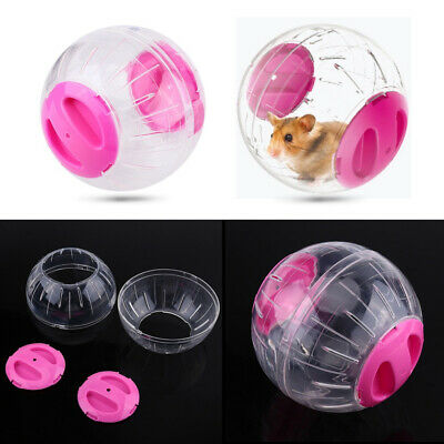 Transparent Plastic Pet Hamster Running Ball Grounder Mouse Play Toy Accessory