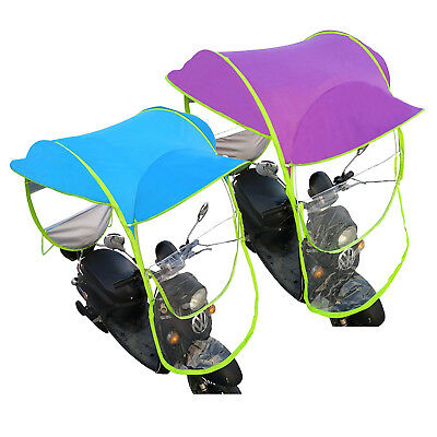 Universal Car Motor Mobility Scooter Umbrella Sun Shade Rain Wind Cover Safe DIY