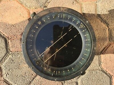 """Af Us Army Wwii Type D 12 Bendix Co. Compass 7"""""""