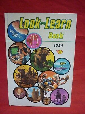 Look And Learn Book 1984 Fleetway Annual