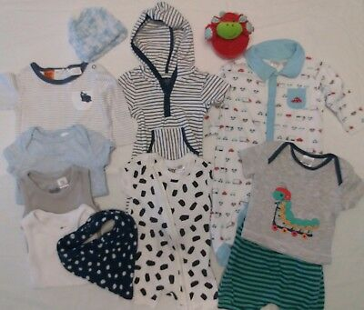 Bulk Baby Boys Clothes Size 000