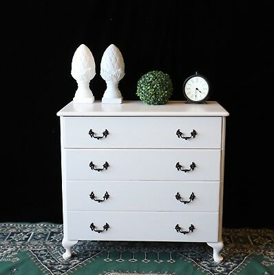 Beautiful As New Vintage Hamptons French Provincial Chest Of Drawers Sideboard