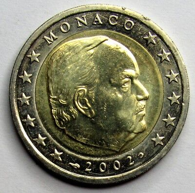 MONACO - 2 Euro - Rainier III - 2002 Officiel