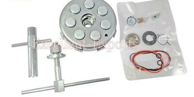 Vespa PX LML Complete clutch assembly 21 cogs 7 spring plunger kit 2 clutch tool