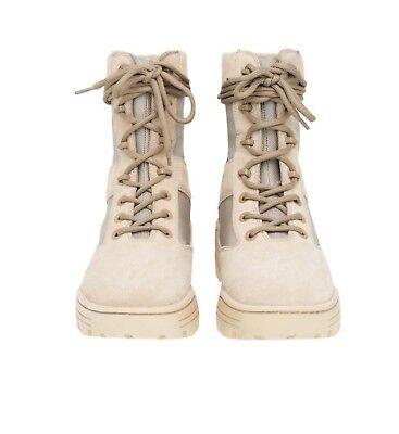 a04bbaa6ee5c9 NEW YEEZY SEASON 4 Combat Military Boot Light Sand Size 42 FITS LIKE A 10  Boost