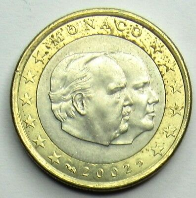 MONACO - 1 Euro - Rainier III - 2002 Officiel