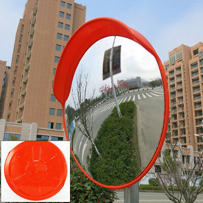 "SECURITY MIRROR 45cm 18"" TRAFFIC DRIVEWAY SAFETY OUTDOOR CONVEX PVC hot sales"