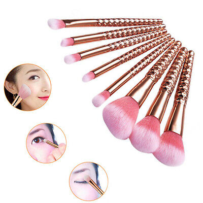 8pcs Professional Makeup Brush Set Foundation Blusher Cosmetic Make Up Brushes