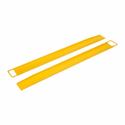 "2 Pack 72"" x 5.5"" Steel Pallet Fork Extensions for Forklifts Lift Truck"