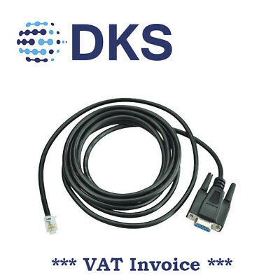 Keyence KV KZ RS232 PLC Programming Cable PC-KV KV16/48/300 001262