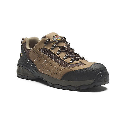 Dickies Gironde Safety Work Trainer Shoes Brown (Sizes 6-12) Men's Hiker