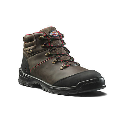 Dickies Cameron Safety Work Boots Brown (Sizes 6-12) Men's Shoes