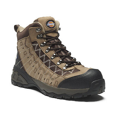 Dickies Gironde Safety Work Boots Brown (Sizes 6-12) Men's Shoes
