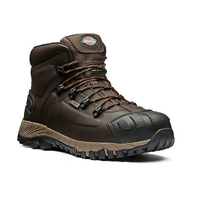 Dickies Medway Super Safety Work Boots Brown (Sizes 6-12) Men's Shoes