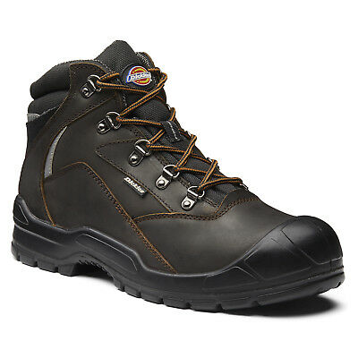 Dickies Davant II Safety Work Boots Brown (Sizes 6-12) Men's Shoes