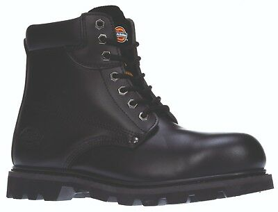 Dickies Cleveland Safety Work Boots Black (Sizes 3-14) Men's Shoes