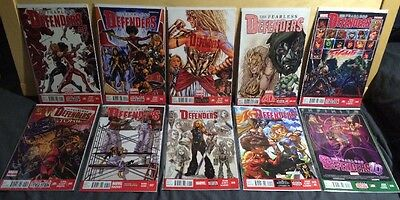 FEARLESS DEFENDERS #1-10 Lot of 10 Comics VALKYRIE, MISTY KNIGHT,BUNN,SLINEY, NM