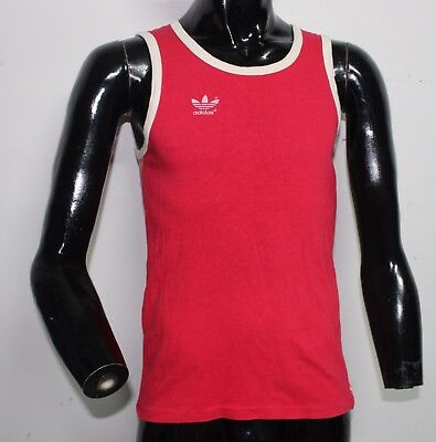 Jersey Canotta Adidas Vintage West Germany  Red