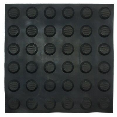 Brutus TACTILE GROUND SURFACE INDICATOR MATS 3Pieces R10 Slip Rating BLACK STUD