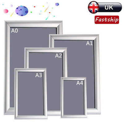 A0A1A2A3A4 Snap Frame Poster Picture Photo Clip Holder Display Wall Notice Board