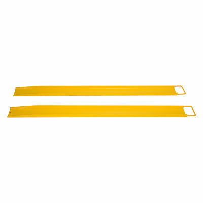 "2 Pack 84"" x 5.5"" Steel Pallet Fork Extensions for Forklifts Lift Truck"