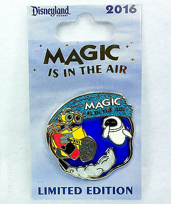 Disney Pin MAGIC IS IN THE AIR WALL-E & EVA Limited Edition Series
