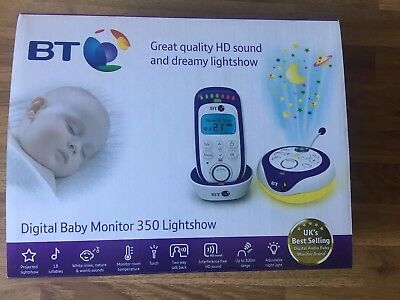 BT Digital Monitor 350 Lightshow  Boxed Full Working Order With Instructions